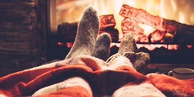 Rust tijdens de Kerstdrukte